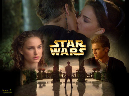 Anakin & Padmé wallpaper