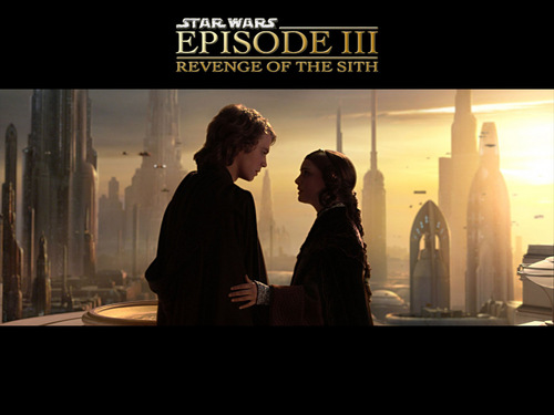 Anakin & Padmé fondo de pantalla