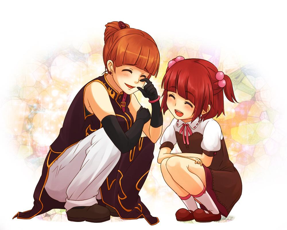 Ange and Eva