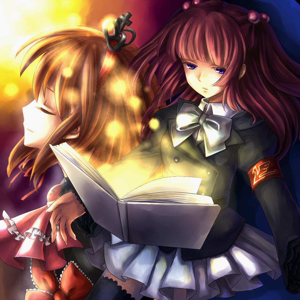 Umineko no naku koro ni♥ Ange-and-Maria-umineko-no-naku-koro-ni-8893744-1024-1024