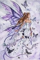 Angel and Butterflies