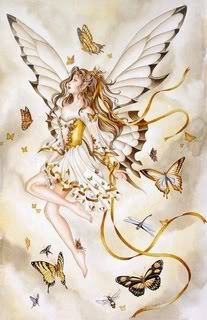 Angel/Fairy and Butterflies