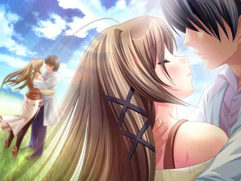 Anime couples masquerade photo 8837319 fanpop - Image manga couple ...