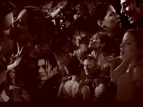 Anna and Dracula দেওয়ালপত্র