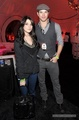 Ashley & Kellan at the BlackBerry Hospitality Suite at U2 Concert - twilight-series photo