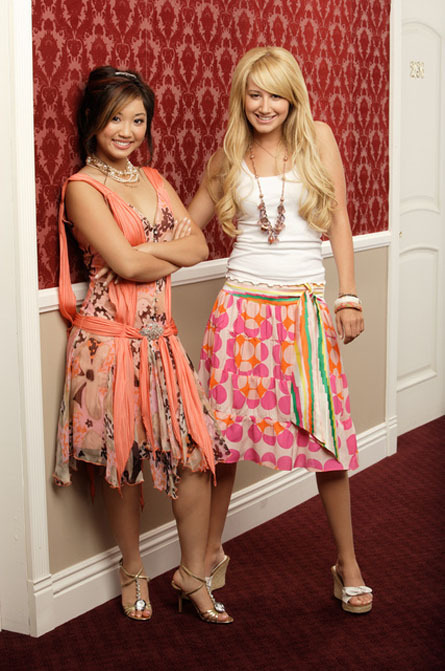 Brenda Song And Ashley Tisdale Ashley and Bren...