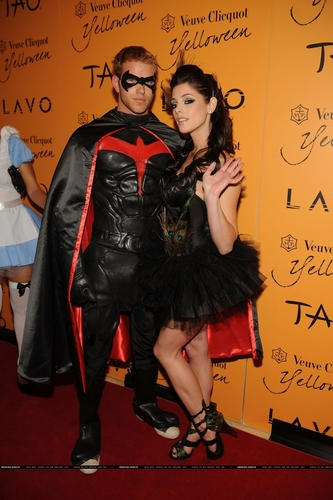 Ashley and Kellan At Yelloween at Tao Lavo