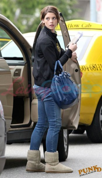 Ashley in Vancouver airport.