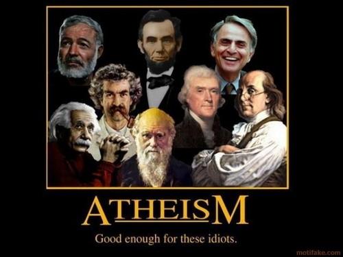 Atheism Motifake Poster