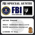 Auntie Badge!