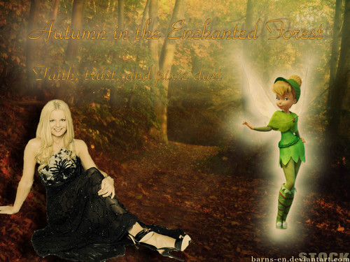 Autumn in the Enchanted Forest - celtic-woman Wallpaper