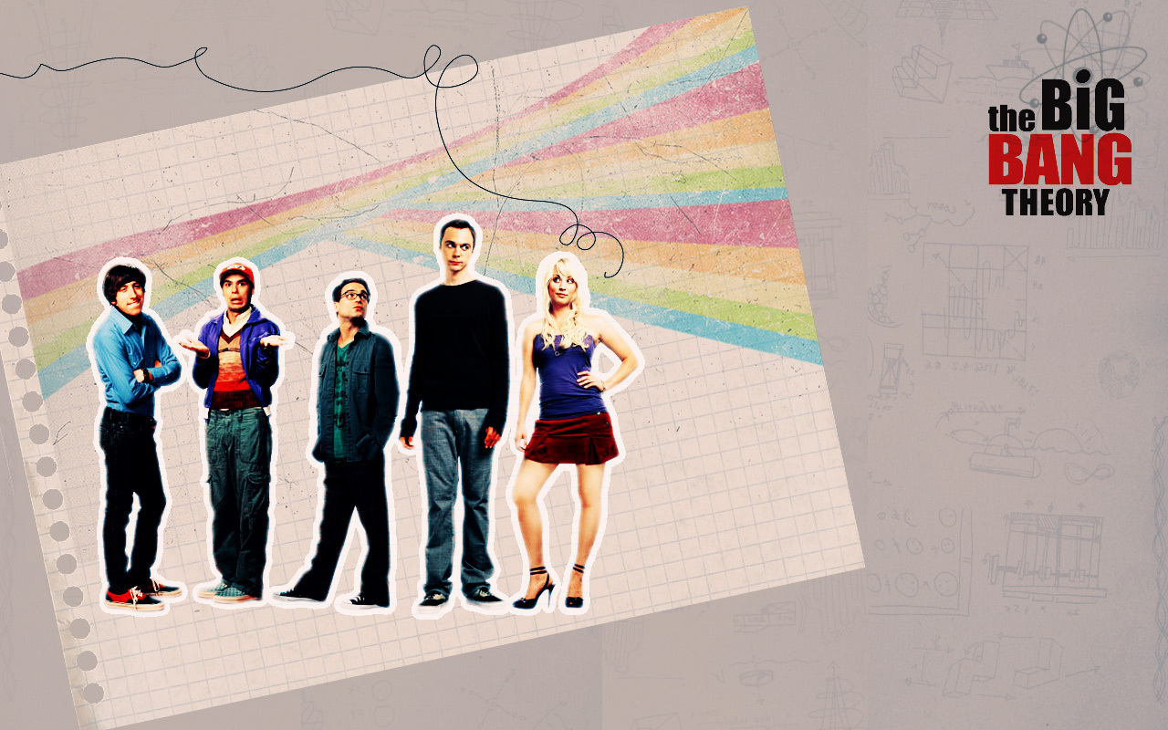 Big Bang Theory Logo Wallpaper Bang Theory Bbt Wallpaper