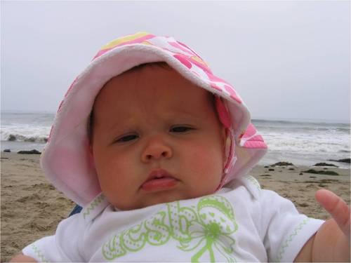 de praia, praia Baby