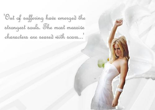 "Jennifer ""JJ"" Jareau wallpaper possibly containing skin and a portrait titled Beauty"