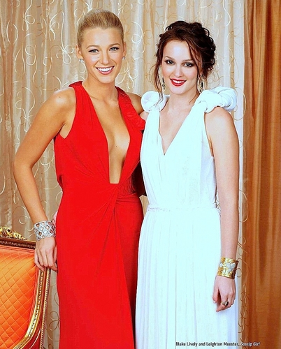 Blake and Leighton at the Emmys