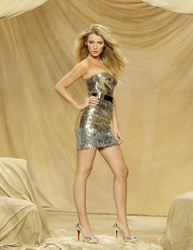 Blake photoshoot for GG season 3