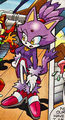 Blaze the Cat - sonic-the-hedgehog screencap