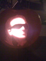 Bono pumpkin - bono fan art