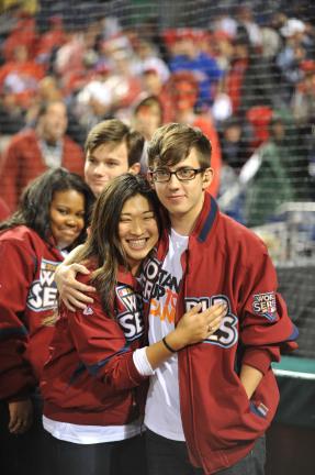 Cast 노래 @ Major League Baseball World Series