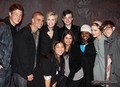 Cast @ The Westside Theater, NY - glee photo