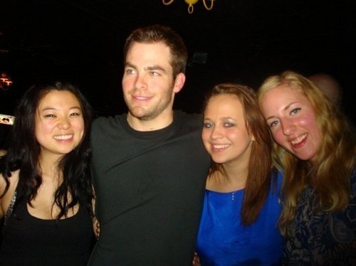 Chris at Indigo with Friends