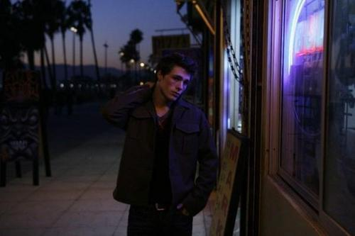 Colton Haynes wallpaper containing a street and a business suit entitled Colton