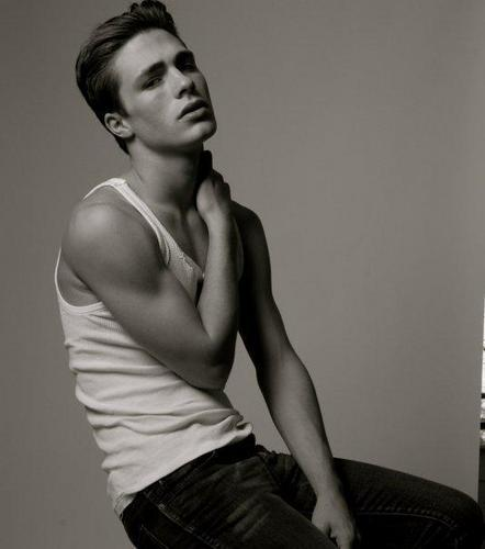 Colton Haynes wallpaper probably containing skin titled Colton