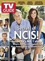 Cote with Mark Harmon TVGuide Magazine