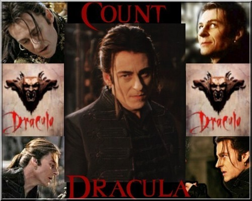 Dracula দেওয়ালপত্র with জীবন্ত and a portrait called Count Dracula