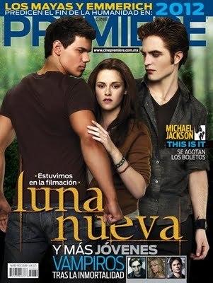 """Cover Mexican Magazine """"Premiere"""" November"""