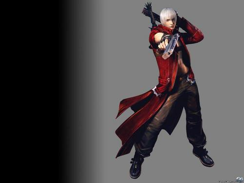 DMC3 charcters