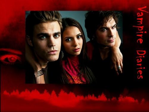 Damon, Elena & Stefan