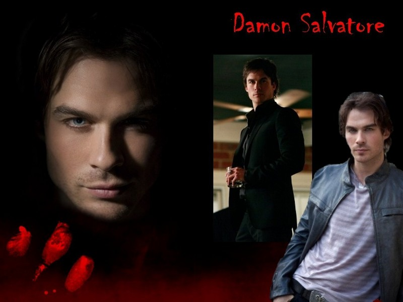 vampire diaries wallpaper damon and. Damon Salvatore - The Vampire