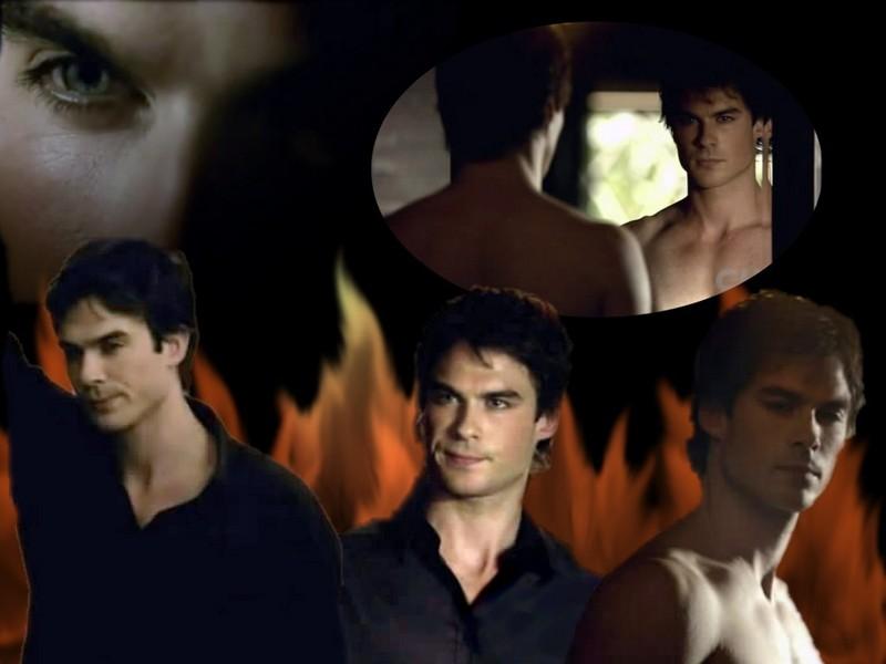 damon wallpaper vampire diaries. Damon Salvatore - The Vampire
