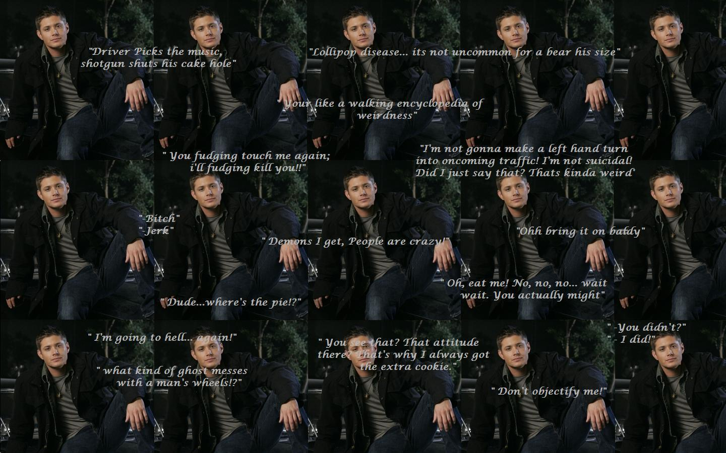 Dean Sad Supernatural Quotes. QuotesGram