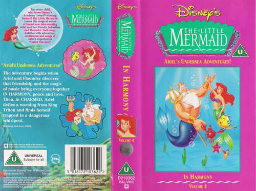Disney's The Little Mermaid VHS
