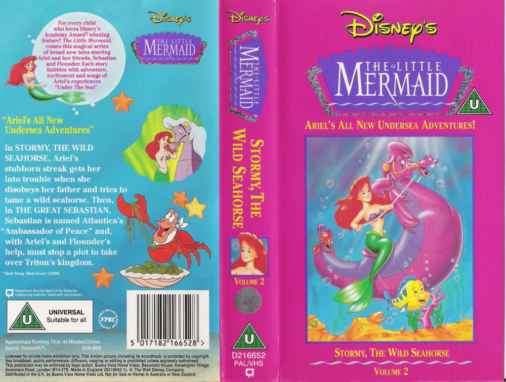 Disney images Disney\'s The Little Mermaid VHS HD wallpaper and ...