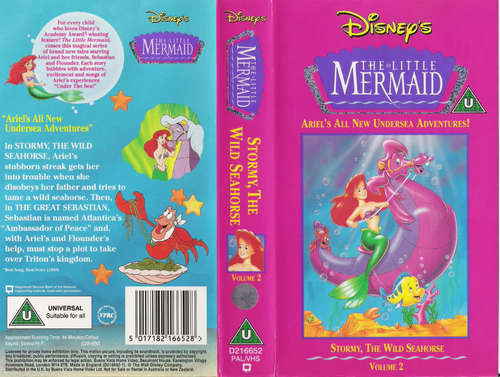 Disney's The Little Mermaid VHS