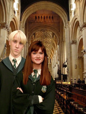 Draco and Ginny wallpaper possibly with a business suit called Draco&Ginny