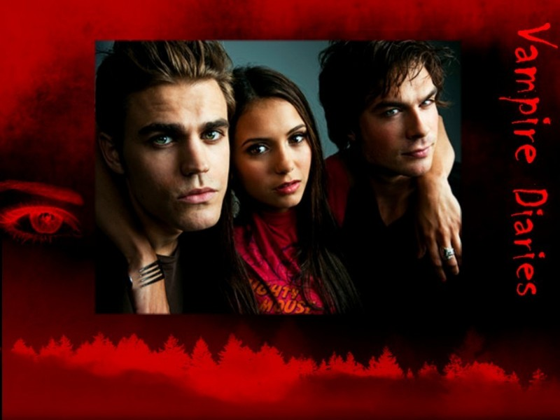 vampire diaries damon and stefan. Elena, Stefan amp; Damon