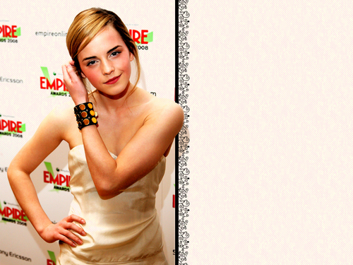 Emma Watson fond d'écran possibly with a portrait called Emma fond d'écran