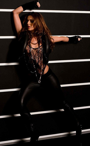 Cheryl Cole wallpaper possibly containing a leotard and tights titled Fight For This Amore