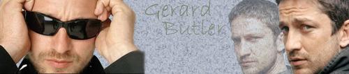 Gerard Butler Hintergrund called Gerard Banner