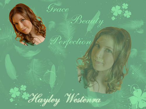 Celtic Woman wallpaper containing a portrait called Hayley - Grace, Beauty, and Perfection
