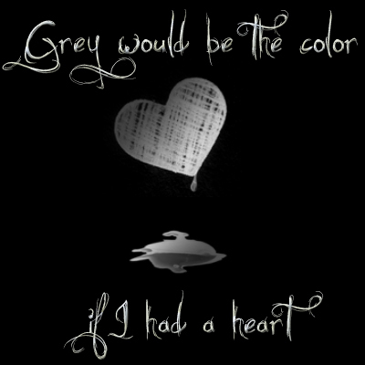 Grey would be the color...