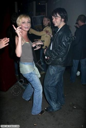 Hannah Spearritt and Paul Cattermole