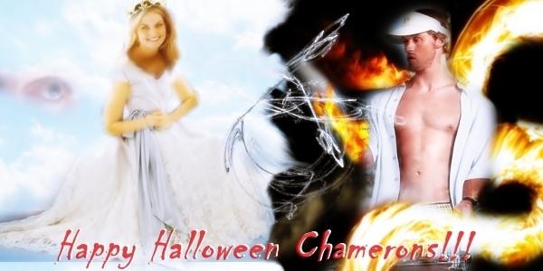 Happy Halloween Chamerons