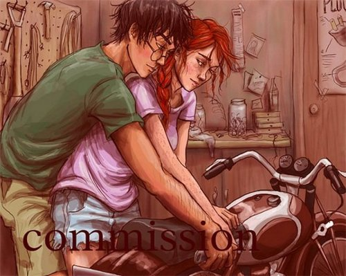 Harry &amp; Ginny - harry-and-ginny Fan Art