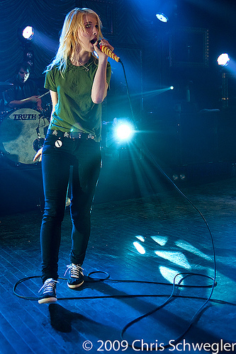 Hayley on The mostra ♥