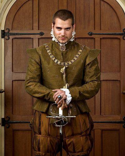 Henry Cavill as Charles Brandon